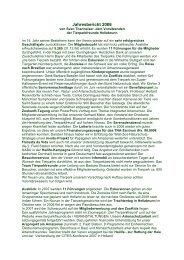 Jahresbericht 2006 - Tierparkfreunde Hellabrunn eV