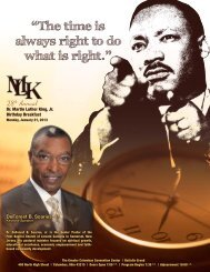 The time is always right to do what - Dr. Martin Luther King, Jr ...
