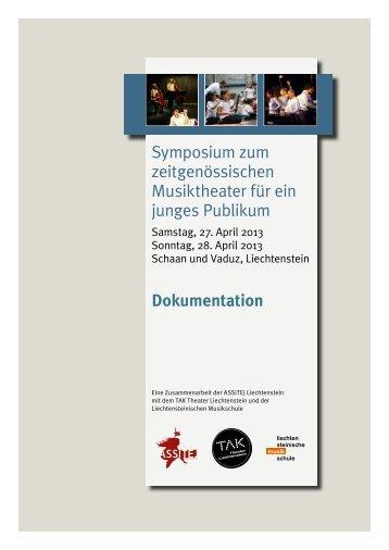 Symposium zum zeitgenössischen Musiktheater für ein junges ...