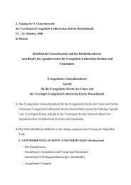 2. Tagung der 9. Generalsynode der Vereinigten Evangelisch ...