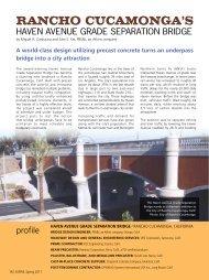 Rancho cucamonga's - Aspire - The Concrete Bridge Magazine