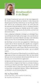 """Hüttenatlas """"Umsteigen vorm Aufsteigen"""" - Naturfreunde - Seite 5"""