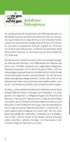 """Hüttenatlas """"Umsteigen vorm Aufsteigen"""" - Naturfreunde - Seite 6"""