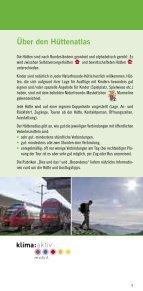 """Hüttenatlas """"Umsteigen vorm Aufsteigen"""" - Naturfreunde - Seite 7"""