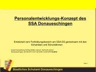 Konzeption PE SSA DS - Staatlichen Schulamt Donaueschingen