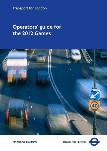 Operator Guide to 2012 - Association of Pallet Networks