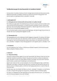 Tarifbestimmungen für den Busverkehr im Landkreis ... - Stendalbus
