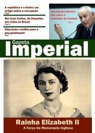 Rainha Elizabeth II - Brasil Imperial