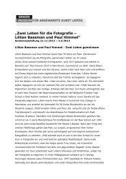 Zwei Leben für die Fotografie – Lillian Bassman und Paul Himmel