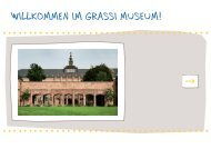 Kaminbehang - Museen im Grassi