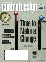 October 2010 - Control Design