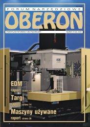 Targi EDM Maszyny używane - Forum Narzędziowe Oberon
