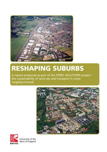 RESHAPING SUBURBS - University of the West of England