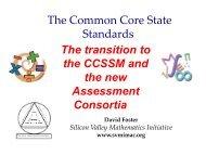 Common Core Standards - Santa Ana Unified School District