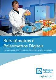 Refratômetros e Polarímetros Digitais - Bellingham and Stanley