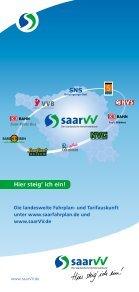 Tarifbestimmungen und Beförderungsbedingungen - Saarland-tarif.de - Seite 2