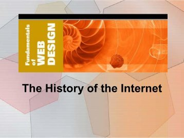 2. Internet History