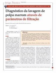 Artigo Técnico - Diagnostico de lavagem de polpa ... - Revista O Papel