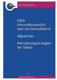 Bericht - EASO - Europa