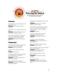 Workshop Listing - National Indian Child Welfare Association
