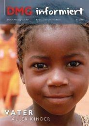 DMG-informiert – Ausgabe 1/2013 - Deutsche Missionsgemeinschaft