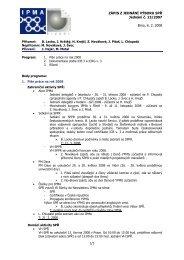 Zápis z jednání výboru č. 13 ze dne 06.02.2008 - IPMA