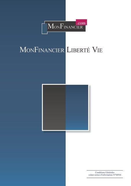 Conditions générales - Monfinancier.com