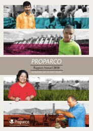 Télécharger le Rapport Annuel 2010 - Proparco