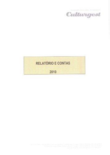 Relatório & Contas 2010 - Culturgest