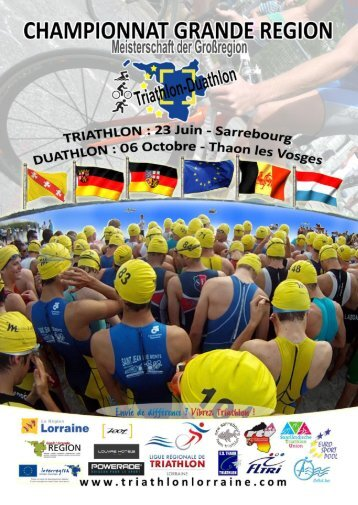 Diapositive 1 - Ligue Lorraine de Triathlon