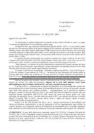 1 Ordine di Servizio n. 171 del 22 GIU. 2009 - Università degli Studi ...