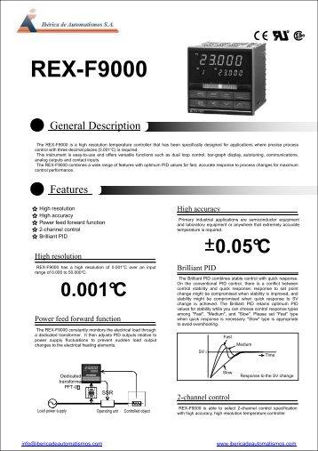 REX-F9000 - Iberica de Automatismos