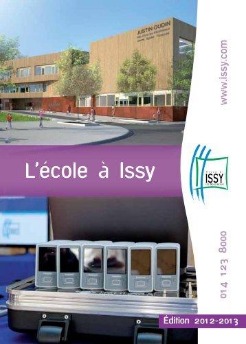 L'école à Issy - Issy-les-Moulineaux