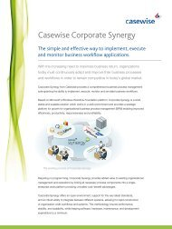 Casewise Corporate Synergy