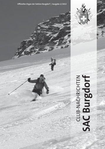 Bulletin 2013-02 - beim SAC Burgdorf