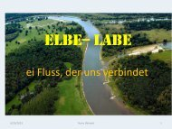 ELBE-- LABE - More Than Neighbours
