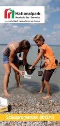 Schulprogramme 2012/13 - Nationalpark Neusiedler See Seewinkel