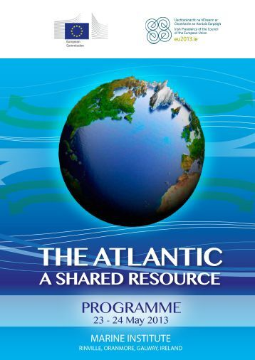 The Atlantic - A Shared Resource Programme - Marine Institute