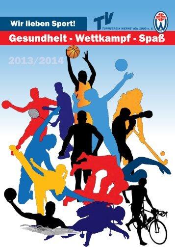 Gesundheit - Wettkampf - Spaß 2013/2014 - TV Werne