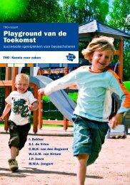 TNO rapport Playground van de toekomst (pdf-bestand - Kei