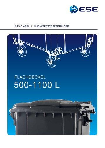 Broschüre 4-Rad Flachdeckel (pdf) - Ese.com