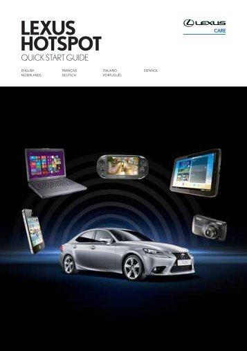 LEXUS HOTSPOT - Lexus Service Information