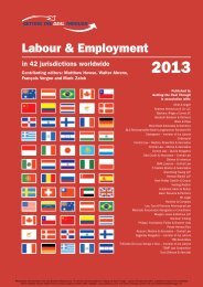 Labour & Employment - Andreas Neocleous & Co