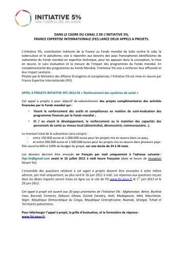 Recherche opérationnelle - Agence Française de Développement