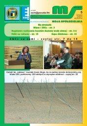 ZGC zzanami – czytajstr . 7 do 1 4 - Siemianowicka Spółdzielnia ...