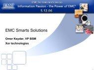 EMC Smarts Solutions - Ortra