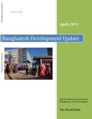 Bangladesh Development Update - World Bank