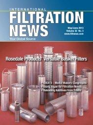 Rosedale Products' Versatile Basket Filters ... - Filtration News