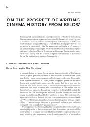 Artikel: On the prospect of writing cinema history from below