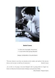 Rachel Carson - wwwuser